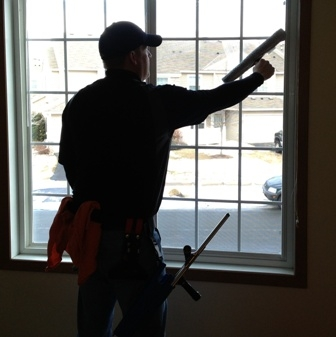 Washing windows in Chanhassen